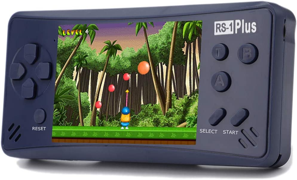 Haopapa Retro Plus Handheld Game Console Portable Video Games Player Built-in 218 Classic Games 3.5 Inch LCD Big Screen Li-ion...