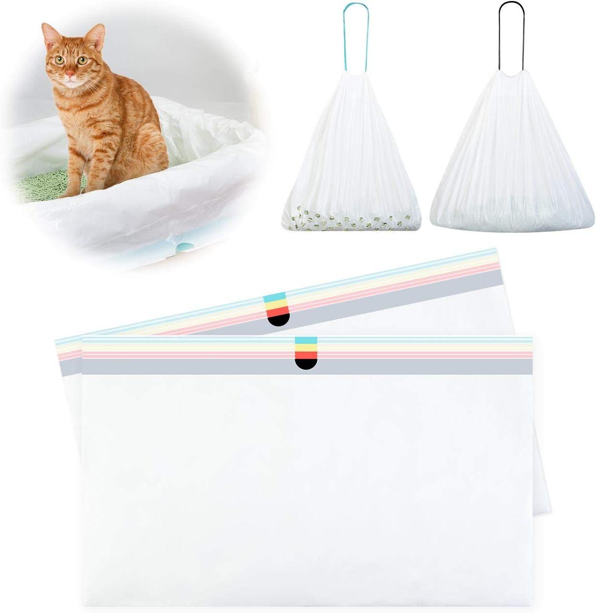 FurPaw Bolsas Basura para Gatos, Bolsas Filter Arenero Gatos Grande con Cordón Diseño Orificio Red Único Heces Gato Fáciles de Limpiar 2 Pieazs: Amazon.es: Productos para mascotas