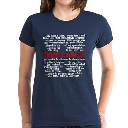 Amazon.com: CafePress - Camiseta de algodón para mujer ...