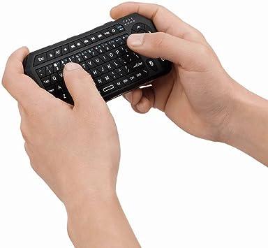 Mini portátil de mano Koiiko forma de 2,4 G teclado Bluetooth ...