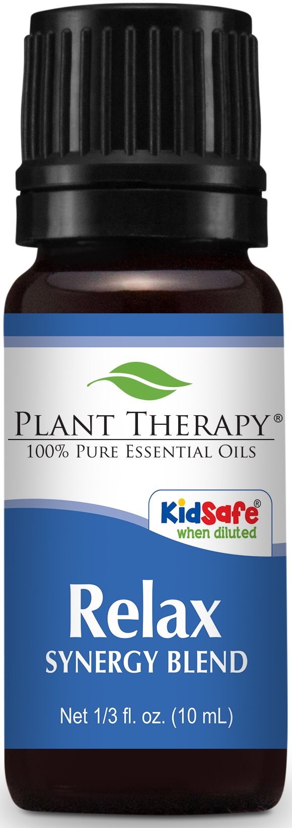 Plant Therapy Relax Synergy Essential Oil 10 mL (1/3 oz) 100% Pure, Undiluted, Therapeutic Grade