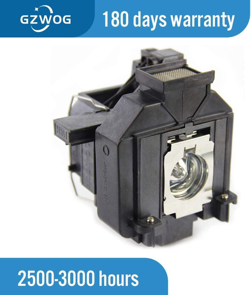 Gzwog ELPLP69 V13H010L69 Replacement Projector Lamp with Housing for EPSON EH-TW7200//TW8000//TW8200//TW8100W//TW8500C//TW9000//TW9000W//TW9100W//TW9500C//PowerLite Home Cinema 5020UB//HC 6010 3D//HC5010e//HC5010