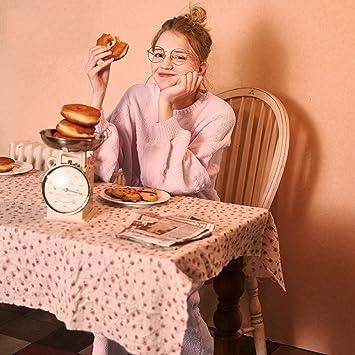 WANG-LONG Ropa De Dormir Batas Mujer Conjunto De Pijamas Damas Camisones Ropa De Noche Chenilla Rosa Cuello Redondo Dos Piezas Invierno Otoño Minimalista ...