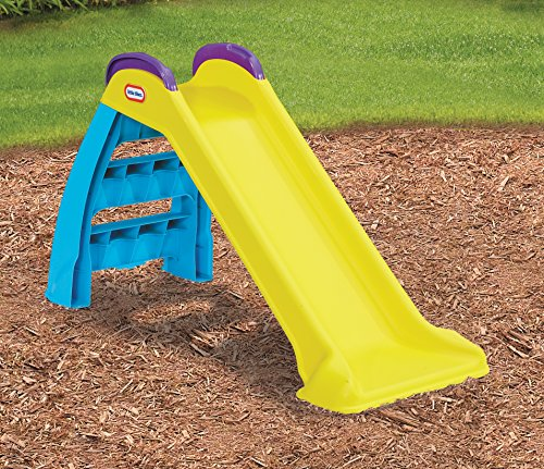 61%2B 1HtES8L - Little Tikes Wet & Dry First Slide with Slip Mat