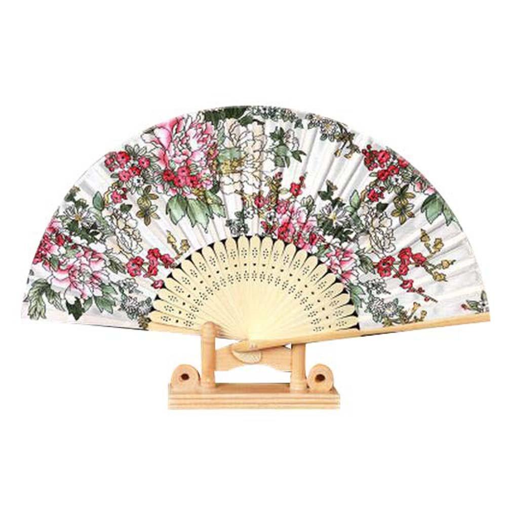 Great Folding Fan Handmade Hand Held Fan for Wedding Gift Beautiful Handheld Fan Blancho Bedding