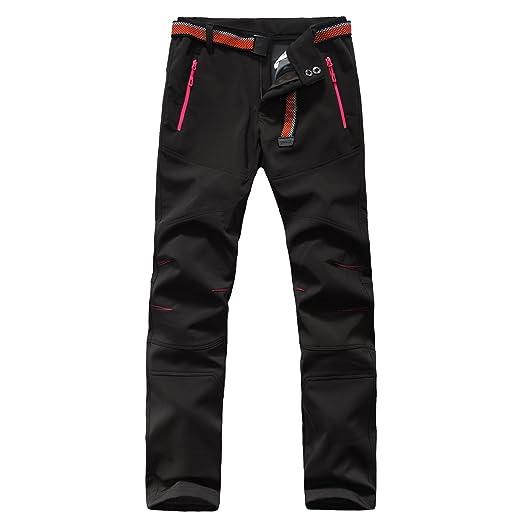 disponibilità nel Regno Unito efa4d 95486 Pantaloni Softshell Pantaloni Trekking Donna Pantaloni Impermeabili Da Uomo  Escursionismo Antivento