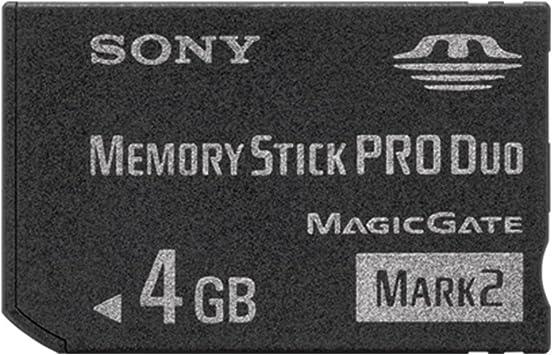Sony 4GB Memory Stick Card Pro Duo PSP Magic Gate .