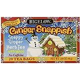 Bigelow Ginger Snappish Herbal Tea with Lemon (box of 20)