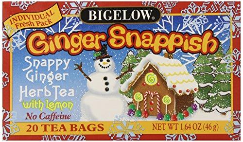 Bigelow Ginger Snappish Herbal Tea with Lemon (box of (Bigelow Herb)