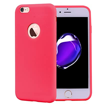 8e69793d904 Funda iPhone 6S Silicona Carcasa Suave Flexible TPU Ultra Fina Delgado Anti  Golpes Choque Case Móvil