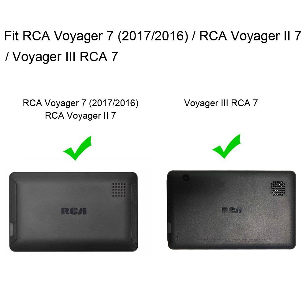 brand new 5b10d 35120 Fintie Case for RCA Voyager 7, Premium PU Leather Folio Cover Fits All  Versions RCA Voyager 7
