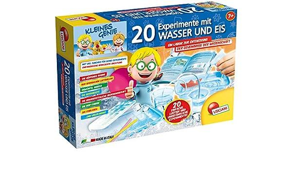 Lisciani 54480 – 20 Experimentos con Agua y Hielo, Juego: Amazon.es: Juguetes y juegos