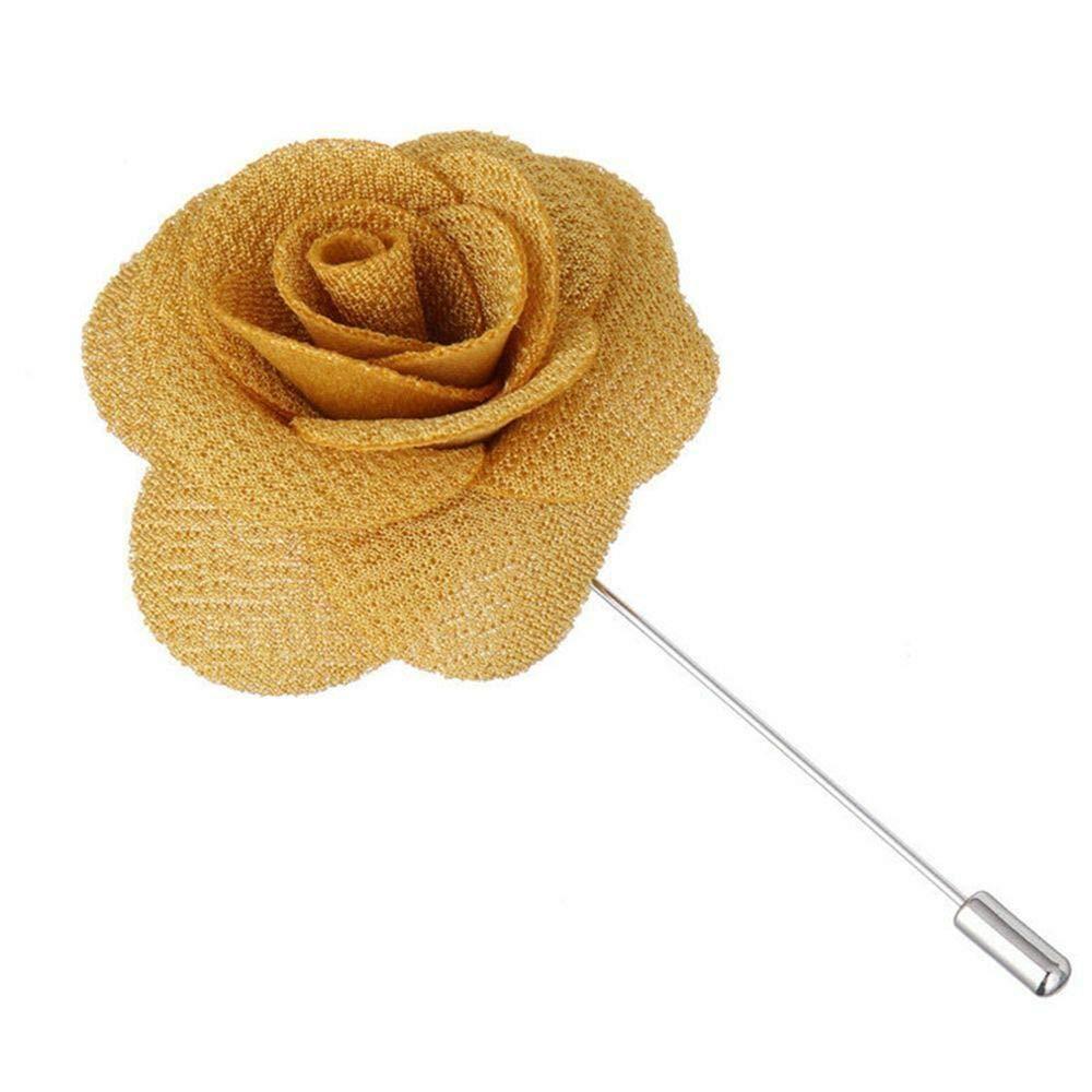 Men/'s Brooches Lapel Daisy 1Pc Pin Flower Boutonniere Men/'s Brooch Handmade