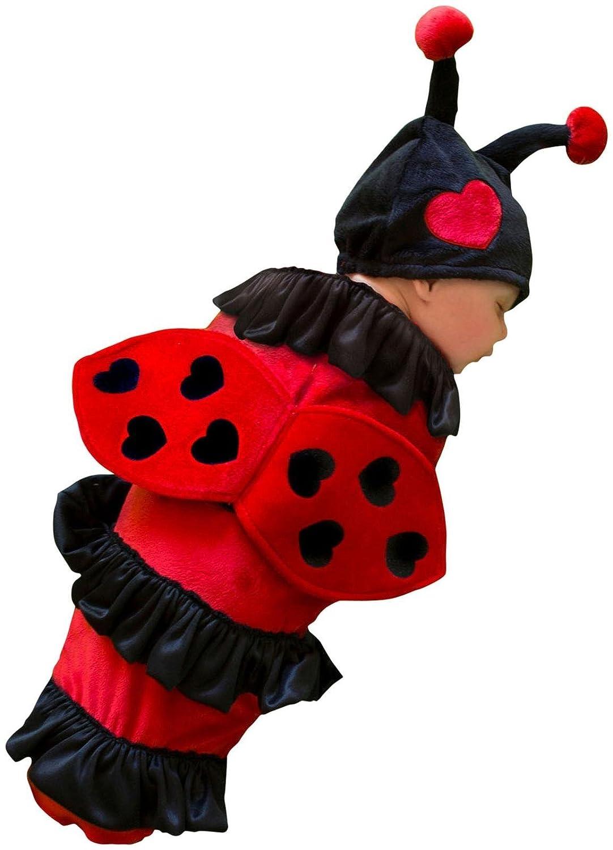 amazon com princess paradise baby u0027s lexi ladybug red black