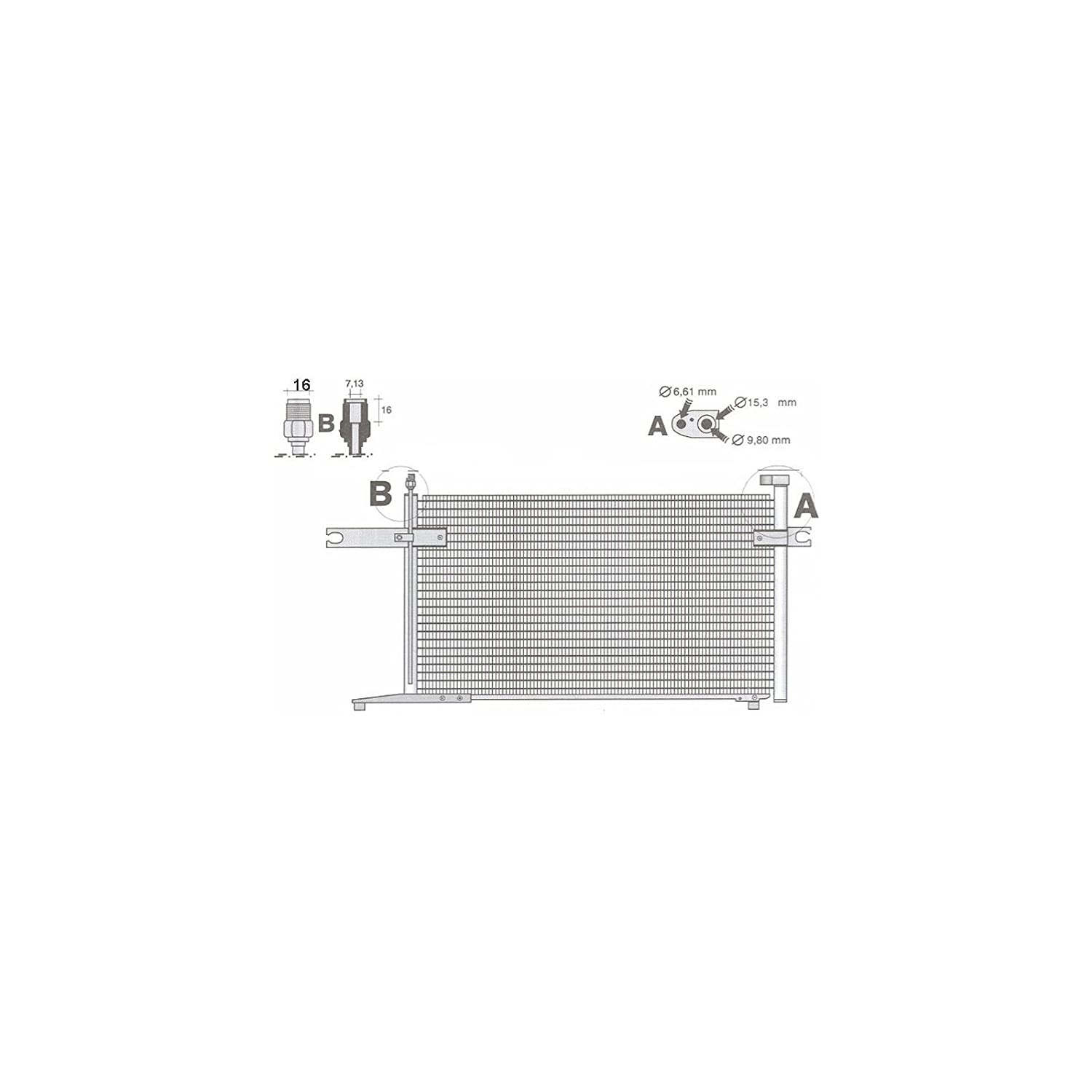 Delphi TSP0225438 Air Conditioning Component