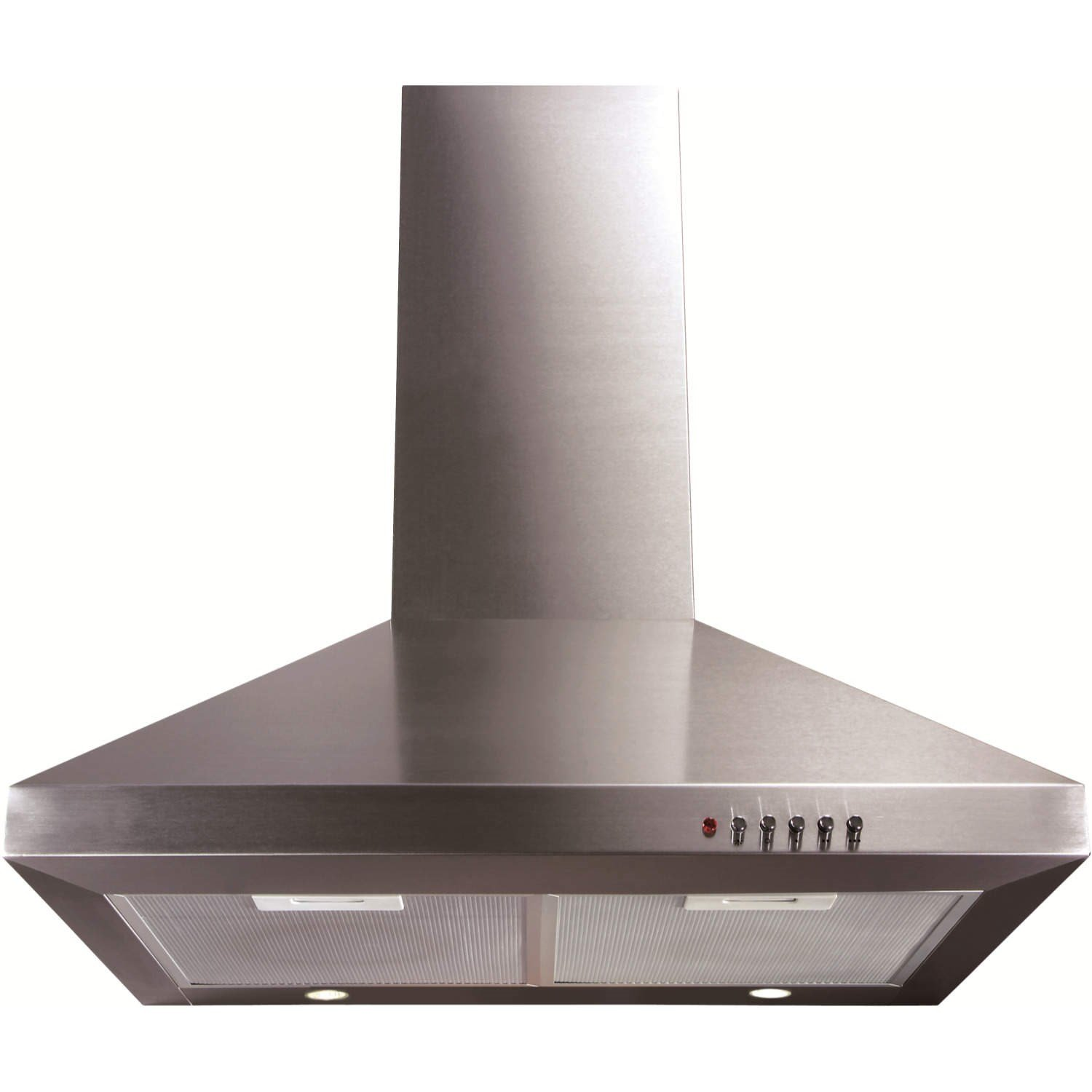 CDA ECH61SS Level 1 60cm Wide Chimney Cooker Hood Stainless Steel ECH61 SS