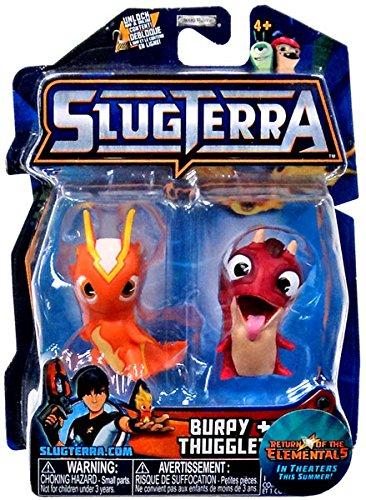 Slugterra, Burpy and Thugglet Mini Figures