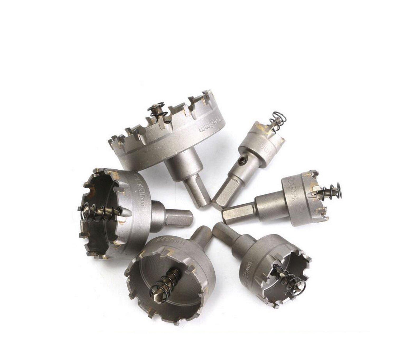 Lightinthebox 22-65mm Lochsä ge Set Hartmetallhalter Hochwertiger Edelstahlschneider Metall Reibahmer Bohrerset