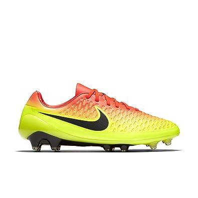 Nike Magista Opus Fg Soccer Cleat Sz  Total Crimson Black