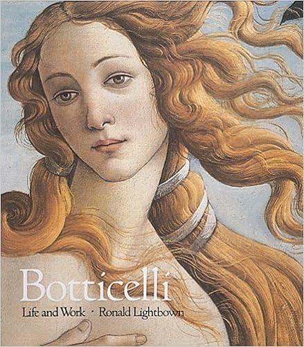 Sandro Botticelli Life and Work