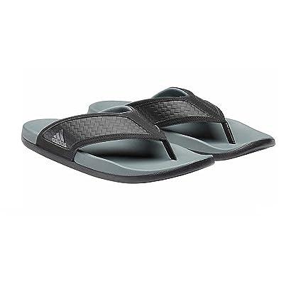 adidas Performance Men's Adilette CF+Summer Y (New Item) (Black, 8) | Sandals