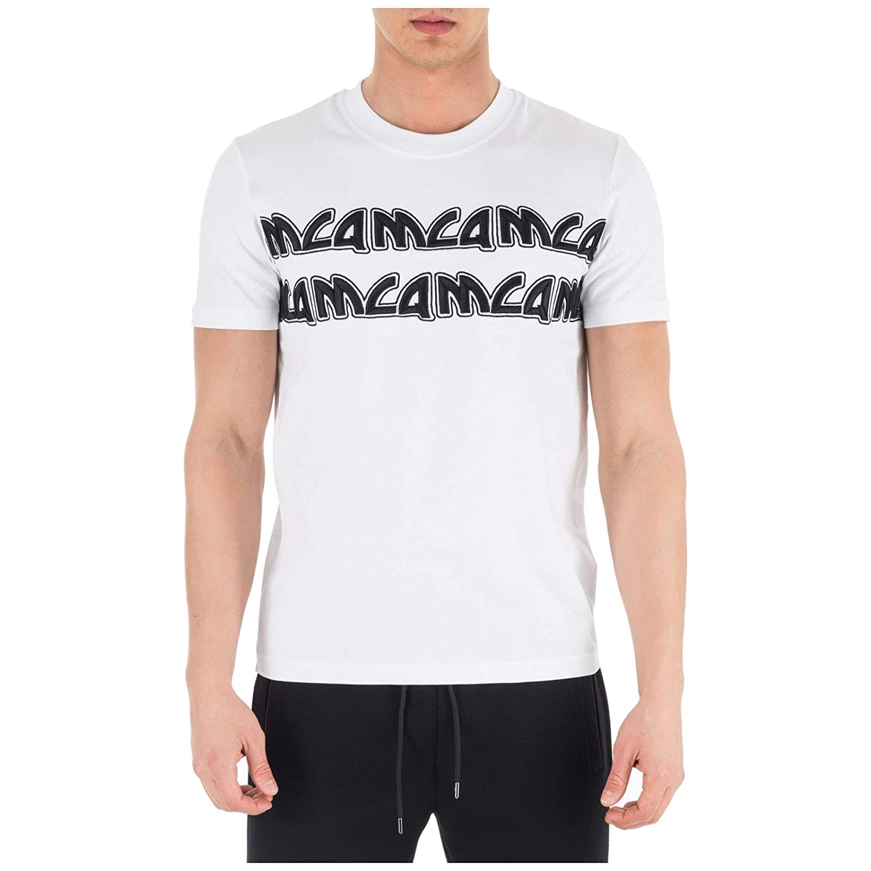 MCQ Alexander McQueen Camiseta Hombre Bianco S: Amazon.es: Ropa y ...