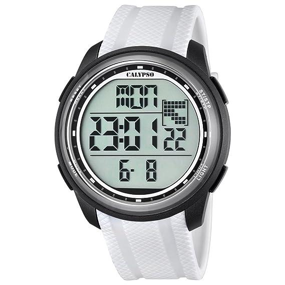 Calypso UK5704/5 - Reloj de pulsera deportivo (para hombre, digital, correa