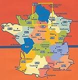 Auvergne, Limousin : 1/200 000
