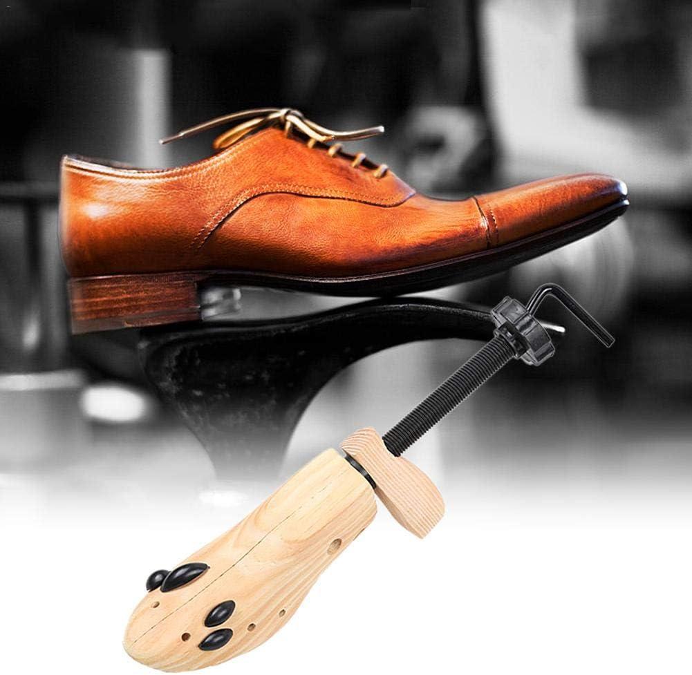 Unisexe en Bois R/églable pour Femme et Homme 2 Voies /Écarteur de Chaussures Shaper Stretcher Taille M mollylover Stretcher