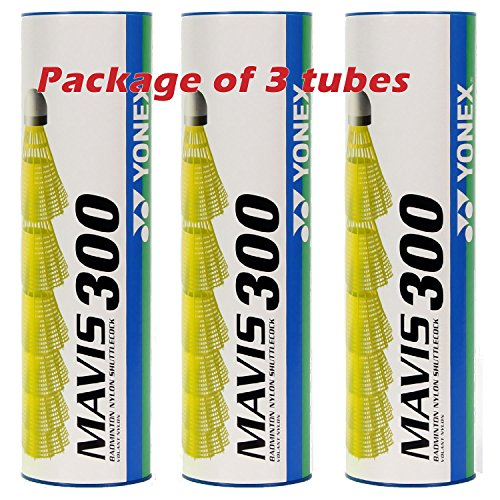 Yonex Mavis 300 Medium Speed Nylon Plastic Shuttlecock