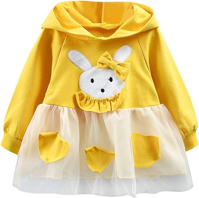 Vestido De Princesa Las Muchachas del Beb/é De Manga Larga Traje De Fiesta De Cuadros Plisada Vestidos De Ropa Infantil Vestido Bautizo Beb/é Ni/ñas K-youth Vestidos Ni/ña