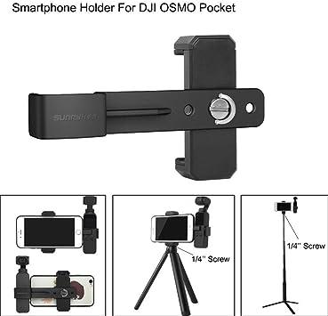 """Nuevo clip de teléfono Soporte Adaptador de montaje 1//4/"""" Tornillo agujero para GoPro Hero 5//4//3"""