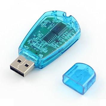 Tarjeta SIM USB Lector/Escritor/Copia Seguridad GSM CDMA F ...