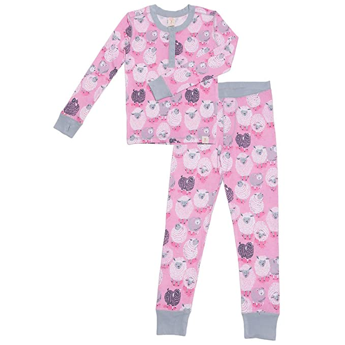Amazon.com  Munki Munki Girl s 2-Piece Pajama Set 3aca0e4bc
