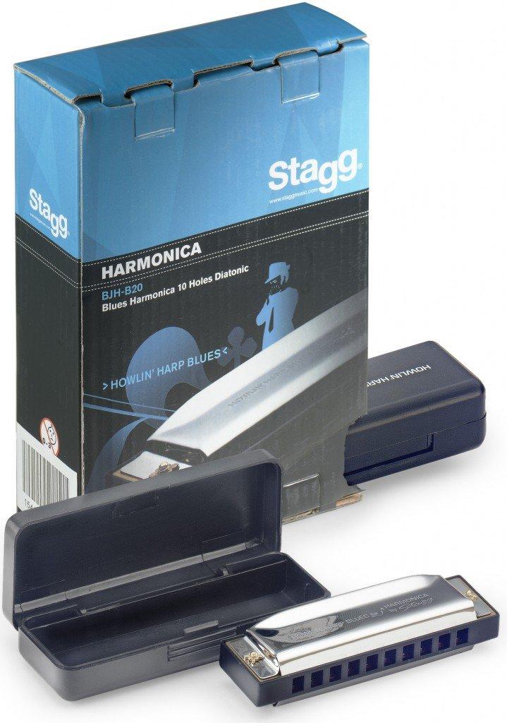Stagg BJH-B20 E Harmonica Blues Tonalit/é Mi