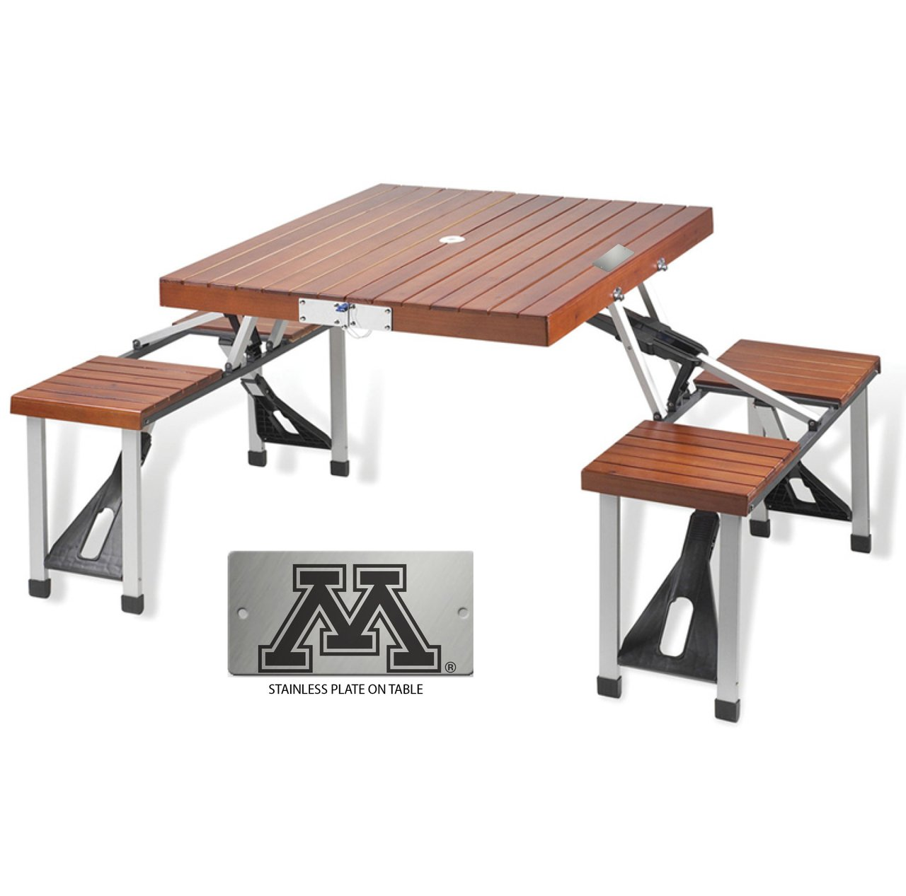 Minnesota Folding Picnic Table for 4