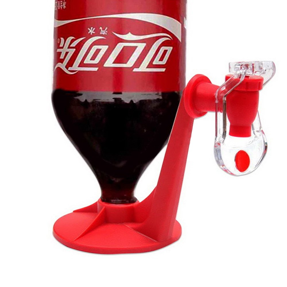 Whatyiu Pressure Water Dispenser,Durable Drink Dispenser Drink Tap Saver Coke Soda Water Fizzy Dispenser Kitchen Water Coolers Easy Use For Home Party