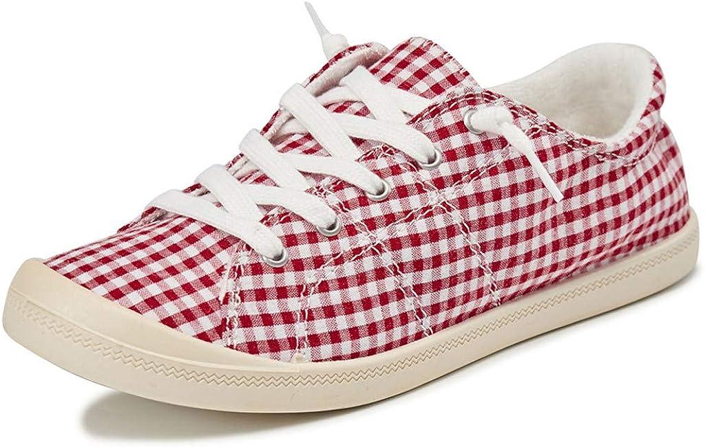 Zapatillas para Mujer Zapatillas con Cordones de Deporte de tacón ...