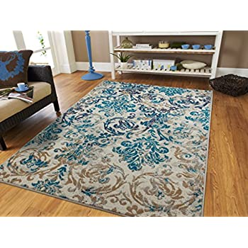 Amazon Com As Quality Rugs Traditional Vintage Area Rug Distressed