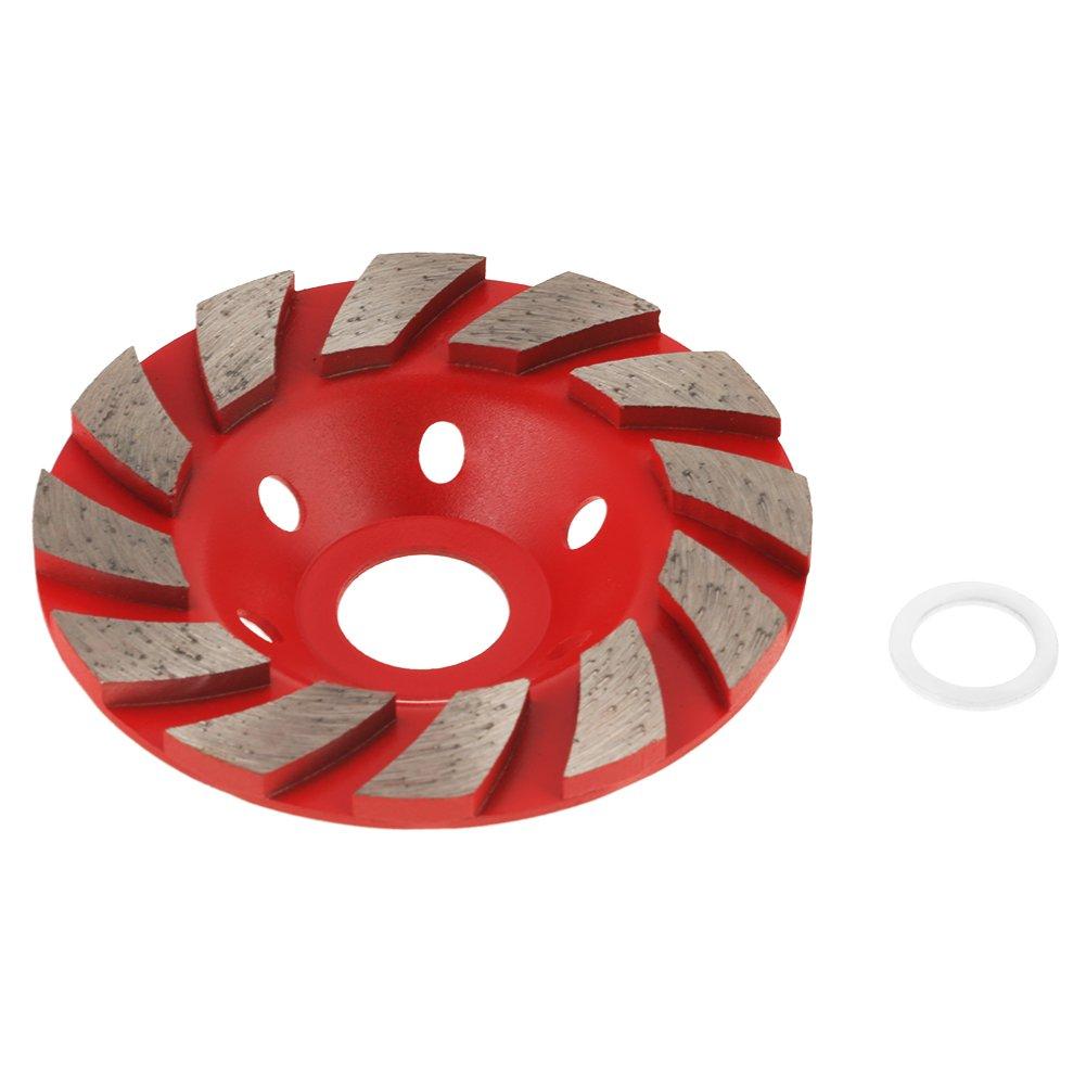 WNJ-Tools 10pcs 20mm Diamante muela abrasiva de Pulido de Piedra Montada Herramientas abrasivas for Dremel Rotary Accesorios for Herramientas tama/ño : 20mm