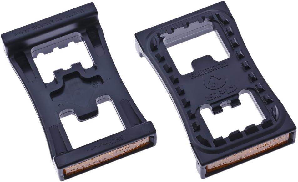 Reflectante/base de pedal, Shimano, PD22, SPD, par: Amazon.es ...