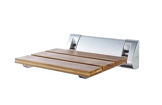 53 opinioni per Ridder A0020200 Sedile richiudibile per doccia, Bambù [Importato da Unione