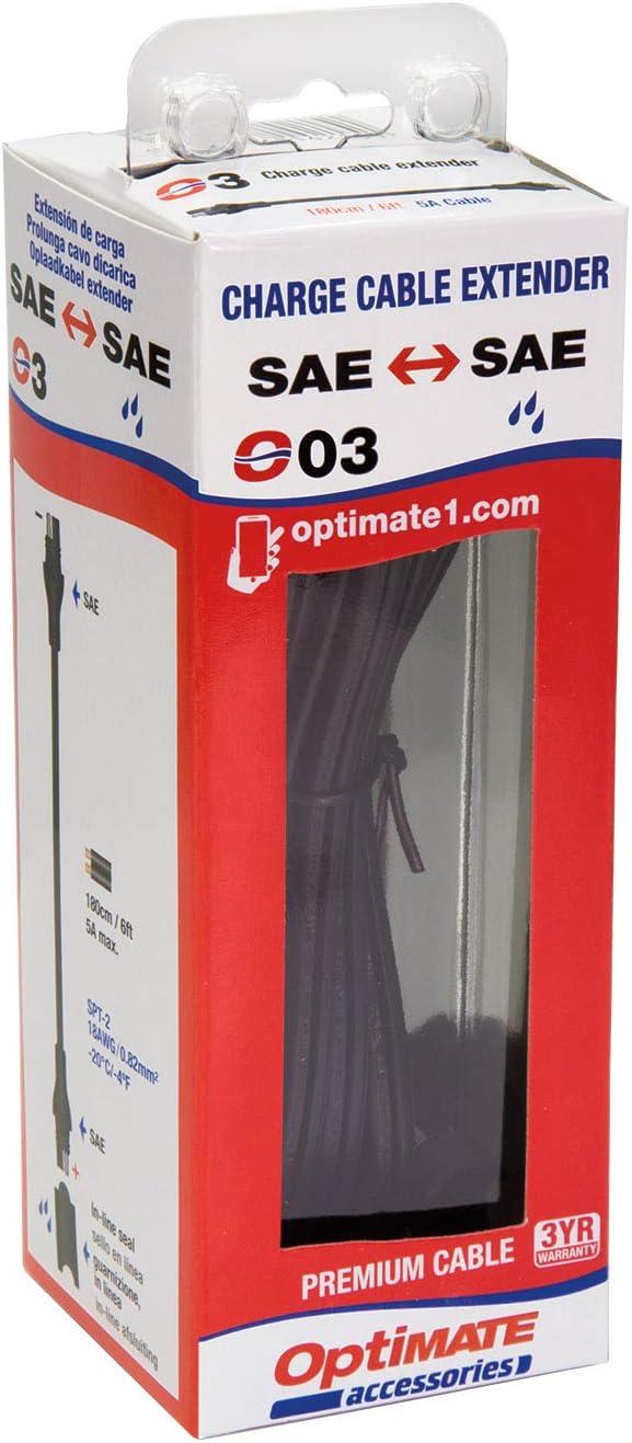 Prolunga da 1,8 m 6 Piedi rivolta al Settore degli Sport motoristici Tecmate Optimate Cable O-03