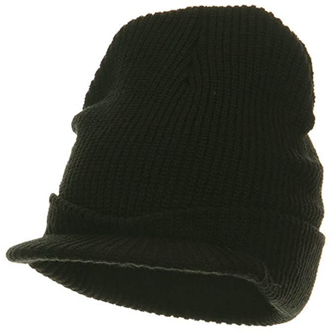 Amazon.com  G.I. Jeep Cap - Black OSFM  Clothing 40b354e1926