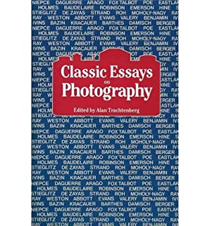 classic essays on photography amazon co uk alan trachtenberg   classic essays on photography classic essays on photography by trachtenberg alan author