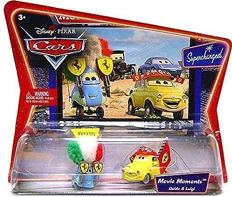 Amazon Com Cars Movie Moments Luigi Guido Toys Games