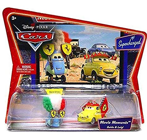 Amazon Com Cars Movie Moments Luigi Guido Toys Games