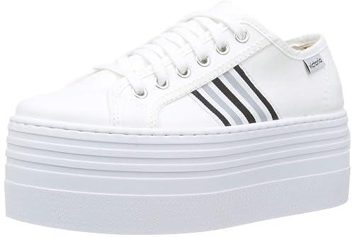 Victoria Barcelona Doble Lona/Detalle, Zapatillas Unisex Adulto: Amazon.es: Zapatos y complementos