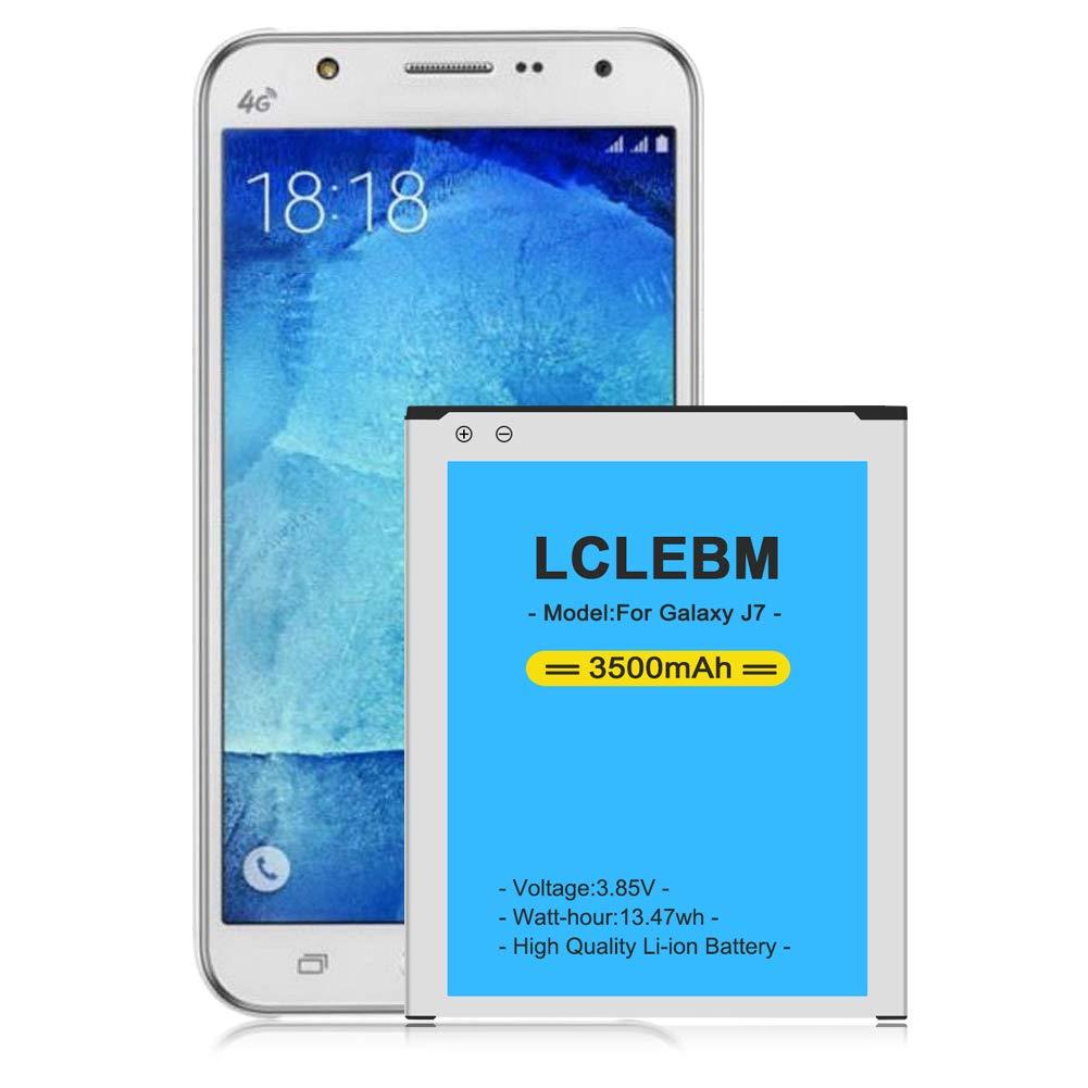 Funda Con Bateria De 3500mah Para Samsung Galaxy J7 Lclebm [7f7r4hlm]