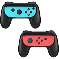 MoKo 2 PACK Grip for Nintendo Switch Joy-Con, Comfortable Profile-modeling Controller for Nintendo Switch Controller…